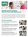Thumbnail of Move Your Way Fact Sheet for health providers