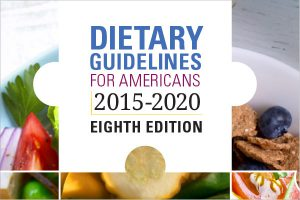 Dietary Guidelines for Americans 2015-2020 Eighth Edition Cover