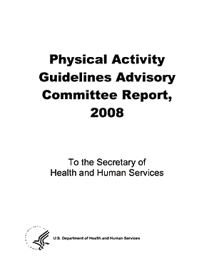 PAG Advisory Committee Report cover