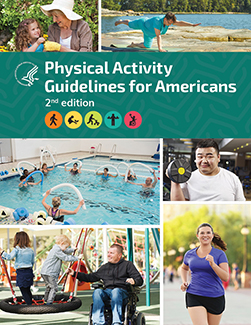 Report cover: Physical Activity Guidelines for Americans, Second Edition