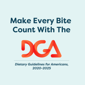 DGA Logo and Make Every Bite Count Tagline