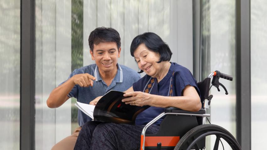 Get Support if You Are a Caregiver