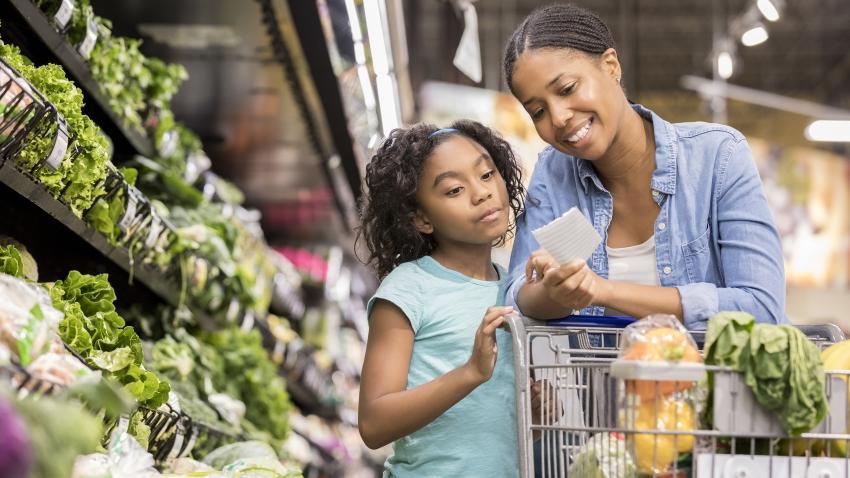 Lower-Sodium Foods: Shopping list