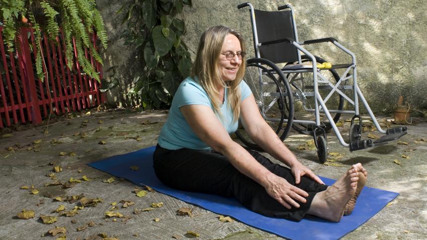 Consejos: Cómo mantenerte activo si tienes una discapacidad